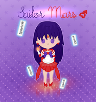 Super Sailor Mars by PeppermentPanda