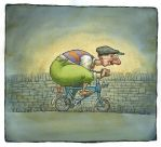 The New Bicycle by WorldofPeterGeorge