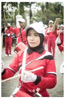 Personil red marching band 02 by VarArt9