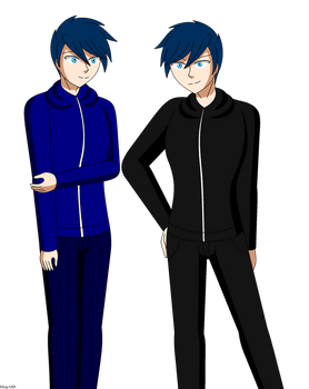 Jay and Ray Redesign EDIT: Completed by Ming-GID