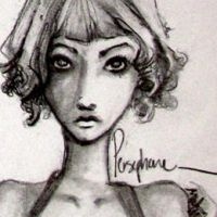 Character Sketches: 'Not my Love Story', Persephon by asongforophelia