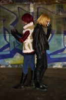 Mello and Matt, New York City by Mihael-Keehl-Seaver