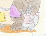 silver the little joey by Inktail by silva592