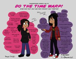 DHT does the Time Warp Meme by DragonHT