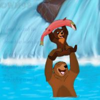 Brother Bear by whitemoon92