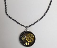 Streampunk Necklace by AbstractAttic