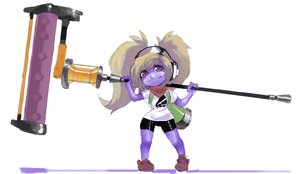 Splatoon Poppy by Borvar