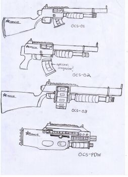 IRS Weapons Sheet (Combat Shotguns) by Target21