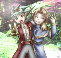 Elfie Friends by bluphino