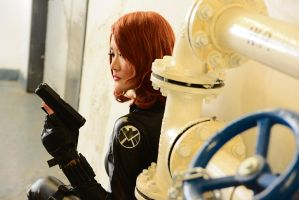 Avengers - Black Widow / Natasha Romanoff by serinanires