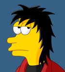 Self-Portrait (Simpsons Style) by Diemon007