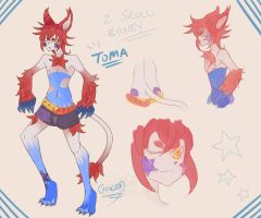 Toma Sheet by InjoKEI