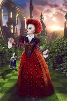 Queen Of Hearts by Almost-Human-Cosband