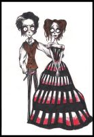 Sweeney Todd-Tim Burton Style by angrycookie101