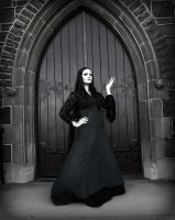 Morticia Addams Cosplay 01 by SSward