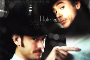 Holmes  Watson by Stephanieforever123