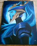 Championship Kalista painting by Nica-artz