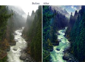 Fantasy background 5_before after by IgnisFatuusII