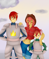 Captain Levir and Family by Ask-TwinRagDolls