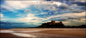 Berry's colours for Bamburgh by LordLJCornellPhotos