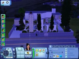 Honey + Inti's house on Sims by TeaganLouise