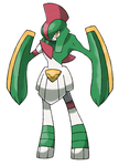 Mega Gallade (Fan-Made) by Ironwolf09