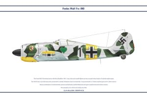 Fw190A4 JG54 4 by WS-Clave