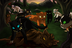 Tigerstar's death by Yolly-anda