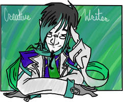 The Creative Writer by AgentMoore