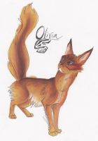 Lilwyverngirl Contest Entry: Olivia by HorseCookies