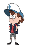 Dipper Pines by TamaTendo