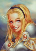 Lux Portrait by Valkymie