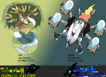 Pokemon Natural and Pokemon Cyber version legends by Phatmon
