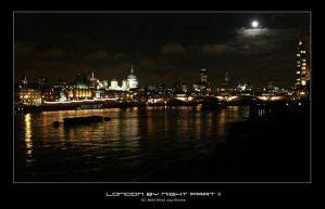 london by night, part 2 by sourhaze