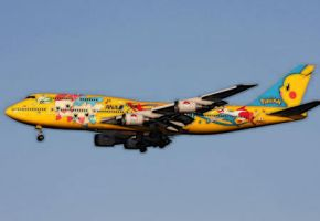 Pokemon Airplane by zombis-cannibal