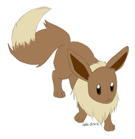 Eevee Drawing Challenge by KidaKuro