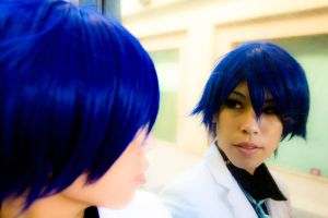 Kaito Reflection by BertLePhoto