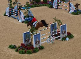 Olympics show-jumping 4 by TheManateePhotos