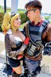 Deadshot and Bombshell Harley by KawikaM