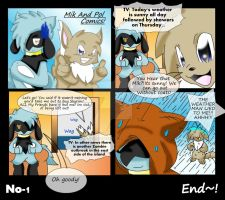 Mik And Pol Comic No 1 Weather by Sonic201000
