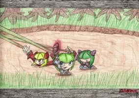 Cosmo, Starla, and Daisy reqst by dragontamer272