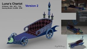 Luna's Chariot Version 2 by VeryOldBrony