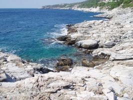 The Rocks of Ioannis Beach by kate44