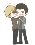 Deucalion and Peter by mai-mind-freak