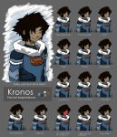 Kronos - Facial Expressions by Phatom-Caster