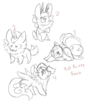 Cheap Adoptable Designs - CLOSED by CINNA-PUP
