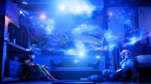 Starry Nights with Jaal by JorundShadefur