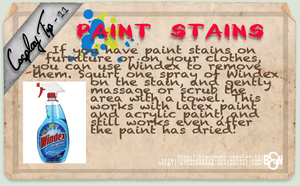 Cosplay Tip 11 - Paint Stains by Bllacksheep