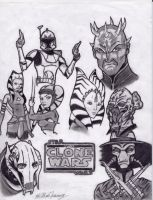 Star Wars: The Clone Wars by ninja4354