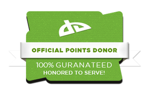 Official Points Donor Badge! by ETSChannel